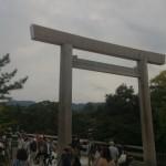 ついに伊勢神宮に行きお参りしてきました