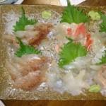 新年会を地元の料理店の清川でやりました。